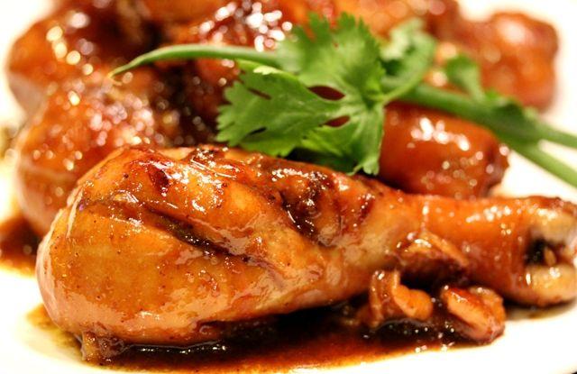 Thịt gà khìa nước dừa