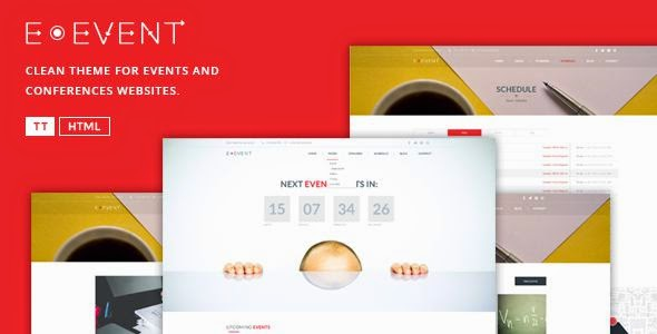 Best Elegant HTML Template For Events