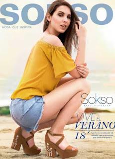 catalogo Sokso calzado verano 2018
