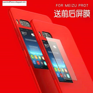 Dual display telephone stands for those phones which comes amongst the ii displays inwards a unmarried  Dual display phone, Meizu Pro seven launched amongst ii displays