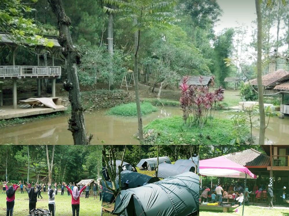 Outbond Kampung Bamboo Cimenyan Padasuka Bandung