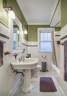 baño pequeño clásico