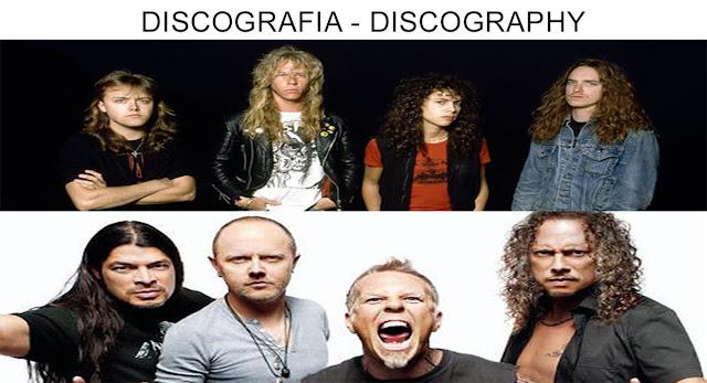 METALLICA: DISCOGRAFIA COMPLETA