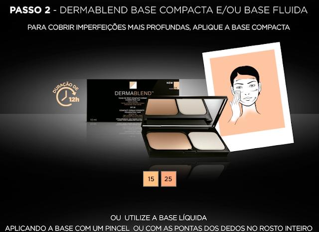 Base Compacta Vichy Dermablend FPS 30