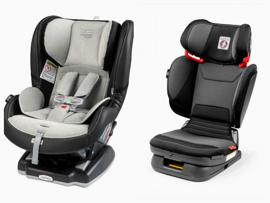 5b60ce2e9f0 Peg Perego premium convertible and booster seats offered at no cost by  Silvercar