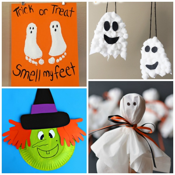 25 Frightfully adorable Halloween crafts for kids