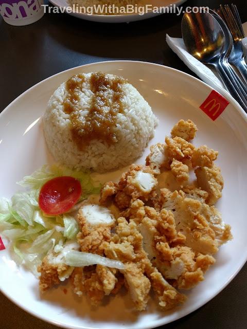 McDonald's unusual menu options in Bangkok Thailand