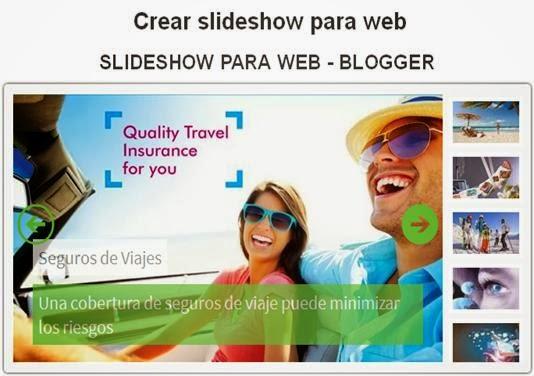Crear Slideshow para web