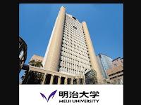Beasiswa Meiji University Jepang untuk S1, S2, dan S3