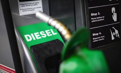Petrobras eleva o preço do diesel em 2,5% nas refinarias