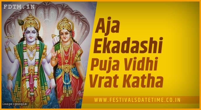 Aja Ekadashi Puja Vidhi and Aja Ekadashi Vrat Katha