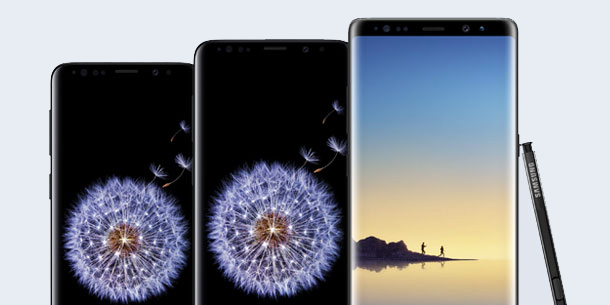 Get $300 off the Samsung Galaxy S9, S9+ and Note 8 at Best Buy