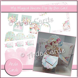 Pop Up Box Card Bundle and Tutorial, 40th Birthday Sale and Competition