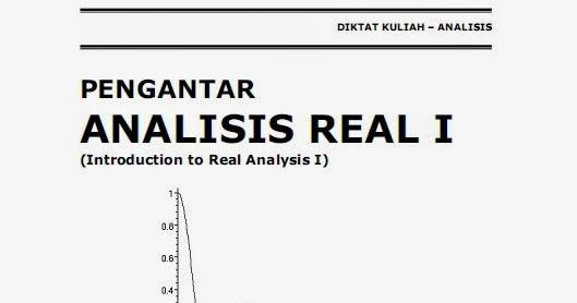 UGM : Buku Mata kuliah Analisis Real 1 (File PDF)