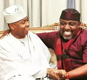 Image result for Saraki's defection not a big issue - Rochas Okorocha