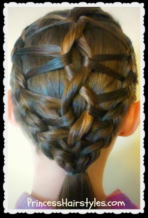 Terrific Dna Braid Hairstyle Tutorial Hairstyles For Girls Princess Short Hairstyles Gunalazisus