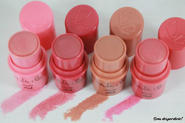 stick de maquiagem blush vult