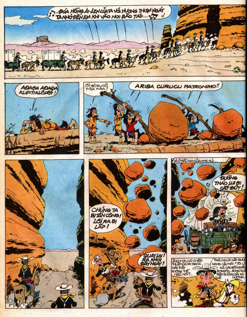 Lucky Luke tap 12 - khe vuc apache trang 2