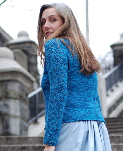 Mermaid's Cardigan by Kathleen Dames