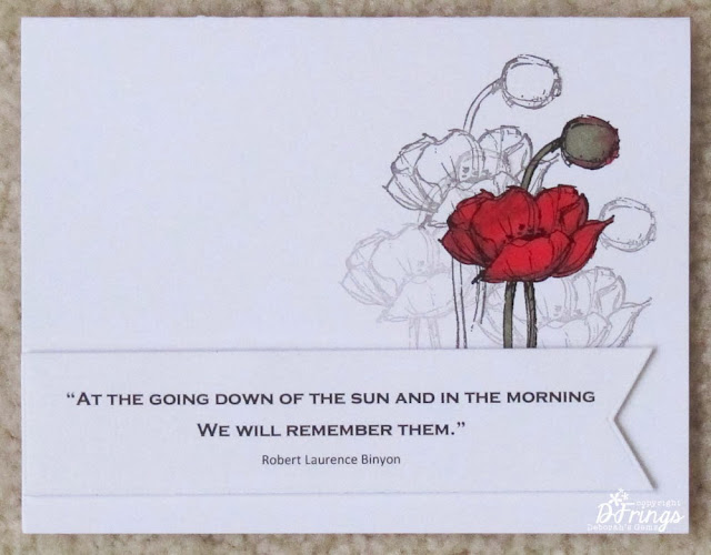 Remembrance - Photo by Deborah Frings - Deborah's Gems