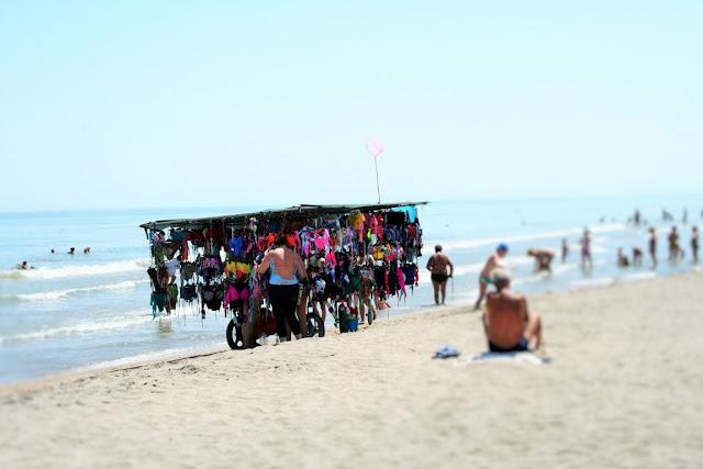lido, spiaggia, sabbia, mare, acqua, cielo