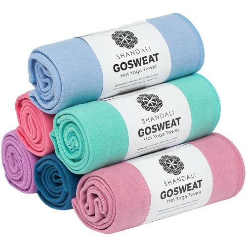 Pop Culture Shock: Shandali Yoga Towel Review
