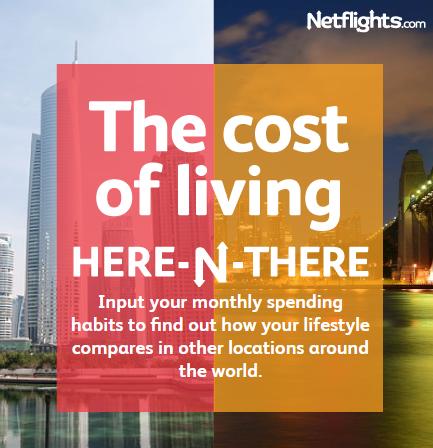 Netflights.com Cost Calculator