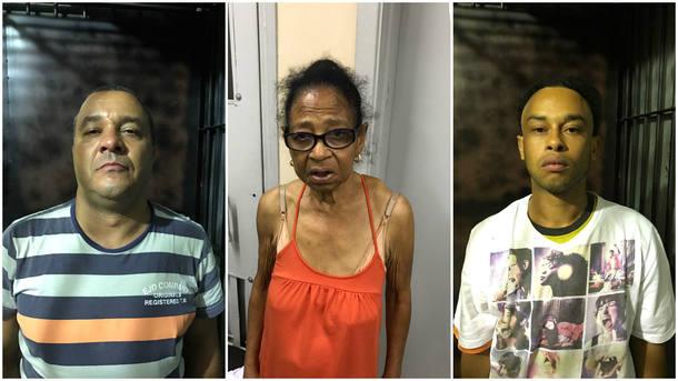 Polícia de SP prende idosa de 83 anos e 2 netos por tráfico de drogas