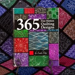 365 Free Motion Quilting Designs book | LeahDay.com