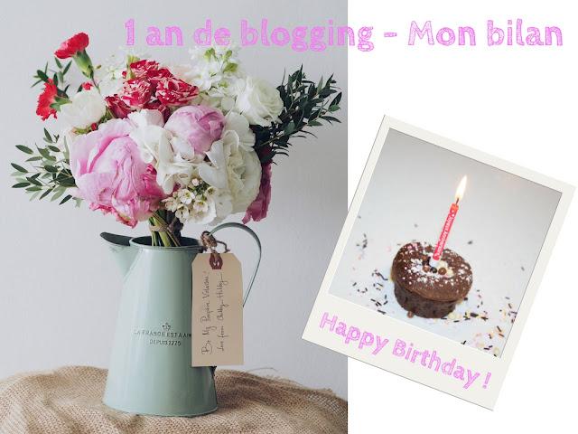 Le blog fête ses 1 an : Mon bilan + Concours n°1 💕