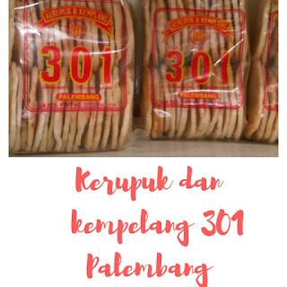 Pusat oleh-oleh Kempelang 301 Palembang