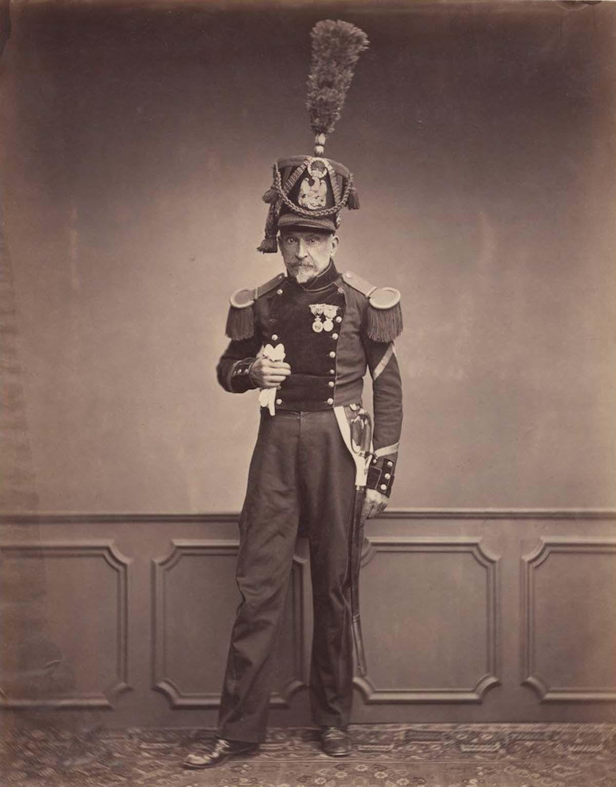 Monsieur Lefebre, sargento del 2do Regimiento de Ingenieros en 1815.