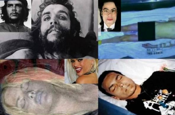صور| هل تخيلت يوما كيف أصبح شكل المشاهير بعد وفاتهم! صور تقشعر لها الأبدان!