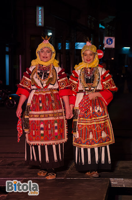 Macedonian national costumes - Ethnic area Skopska Blatija