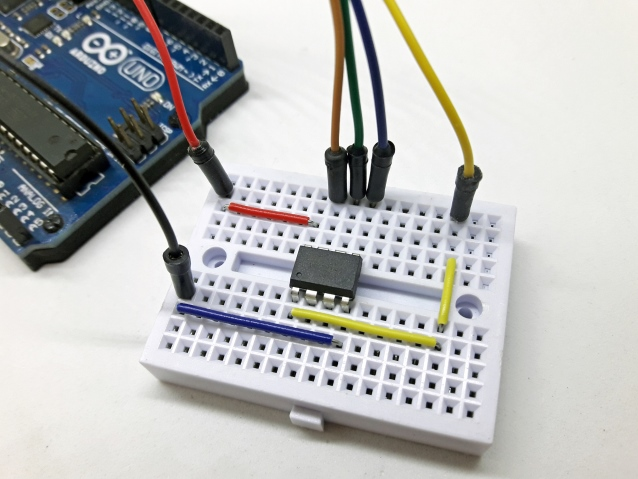 Gravando bootloader do ATtiny85 usando Arduino