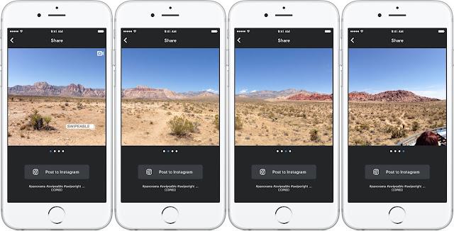 Cara Membuat Foto Panorama di Instagram