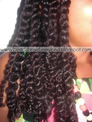 Flat Twists to the Side- Natural Hair Styles