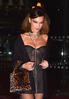 Bella Hadid Leaving the Royal Monceau el 6