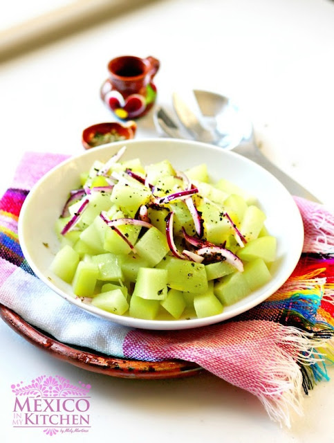 Chayote salad recipe