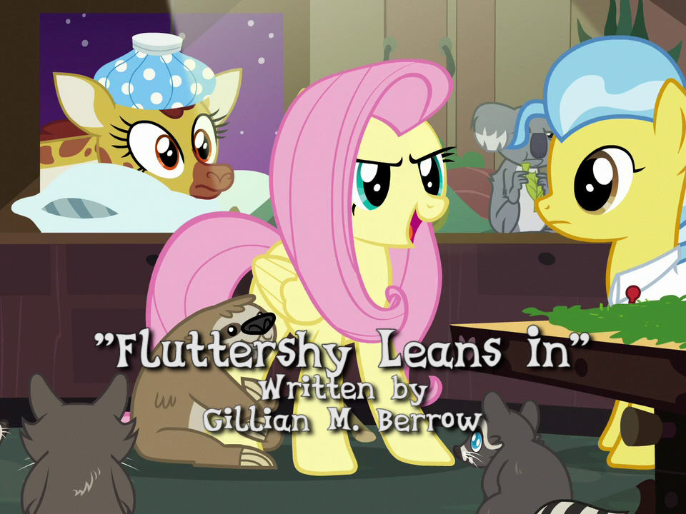 the railfan brony blog mlp episode 705 fluttershy leans in