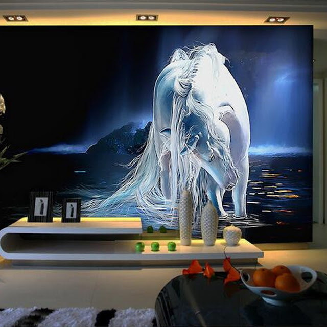 Unicorn wall mural unicorn Wallpaper for rooms 3d wallpapermural photo wall murals wall home decor