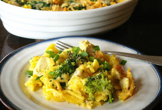 pasta casserole with broccoli and chicken
