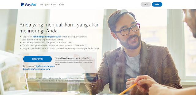 Rekening Paypal Online Gratis
