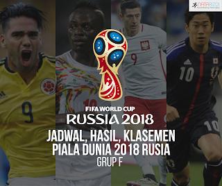 Jadwal, Hasil, dan Klasemen Grup H : Piala Dunia 2018