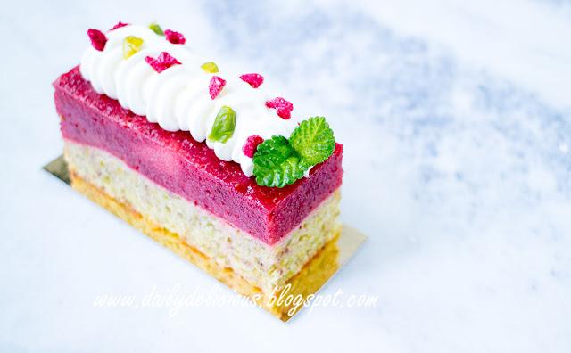 Strawberry Almond Coffee Cake Recipe