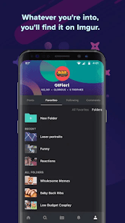 Imgur Memes GIFs and More v4.2.2.8869 MOD APK Is Here !