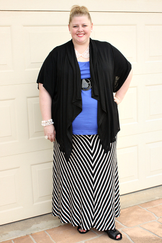 d31f1f11a22d The skirt is one of the most versatile pieces of clothing you can wear, and  a bold, striped maxi skirt such as this one, can be worn with so many  different ...