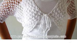 Bolero Crochet en Punto Salomón / Tutorial