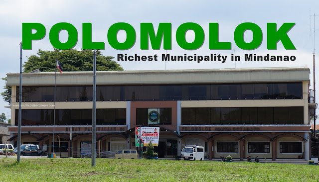 "Polomolok is ""richest municipality"" in Mindanao"