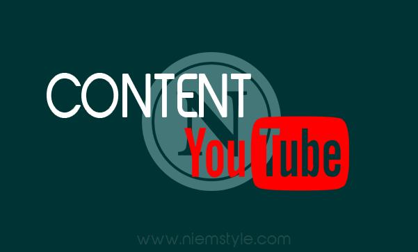 Content Youtube là gì?
